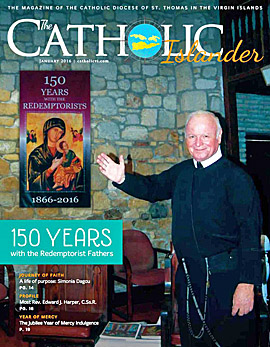Catholic Islander, January 2011 Cover