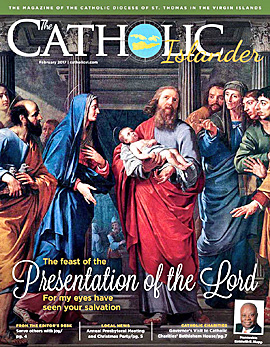 jFebruary 2017 Catholic Islander Cover