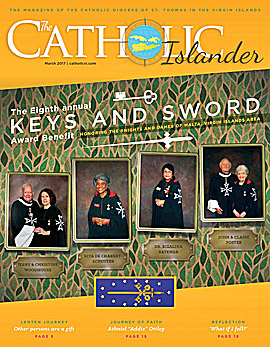 March  2017 Catholic Islander Cover