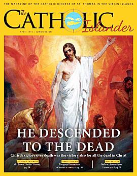 April 2016 Catholic Islander Cover