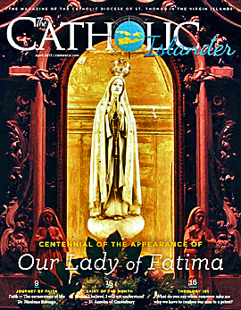 April 2017 Catholic Islander Cover