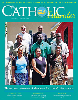 June 2016 Catholic Islander Cover