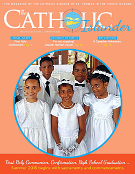 The Catholic Islander, July/August 2016 cover