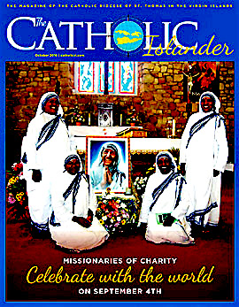 October 2016 Catholic Islander Cover